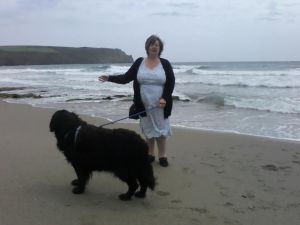 rosemary and her dog