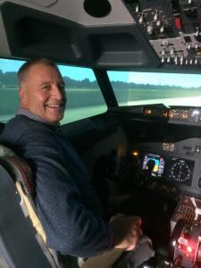 haydn flying 737